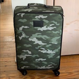 VS PINK Camo Rolling Suitcase Luggage